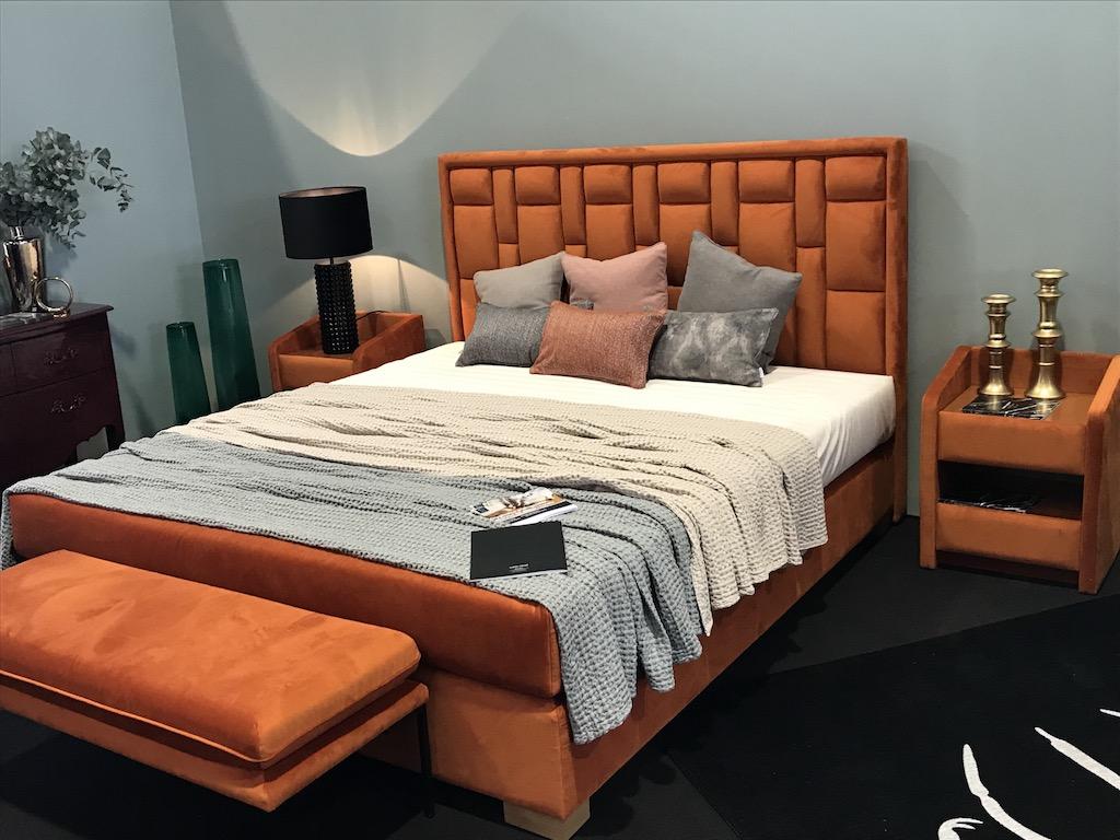 Łóżko tapicerowane Morfeusz